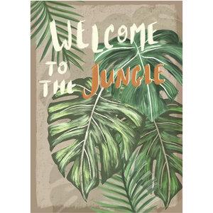 Klein & Stoer Poster jungle