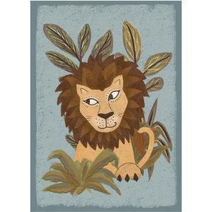 Klein & Stoer Kinderposter leeuw