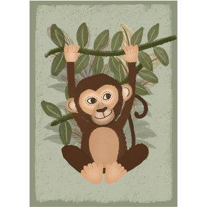 Klein & Stoer Poster aap