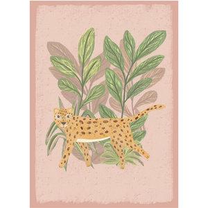 Klein & Stoer Poster luipaard