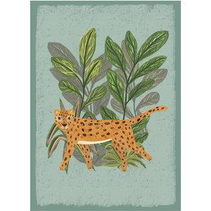 Klein & Stoer Kinderposter luipaard