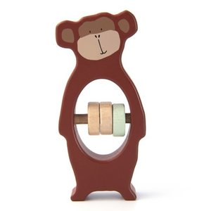 Trixie Houten rammelaar Mr. Monkey
