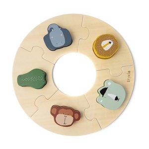 Trixie Houten ronde puzzel
