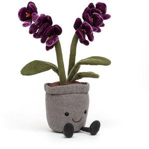 Jellycat Knuffel purple orchid
