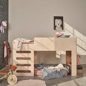 Little dreamers Bed riva low loft 200x90