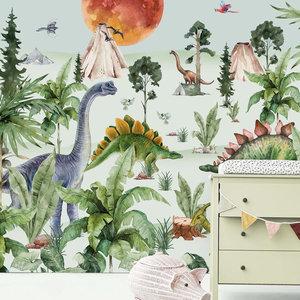 Creative lab amsterdam Dino by Moonlight Behang Mural