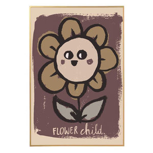 Studio Loco Poster flower child