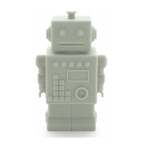 KG Design Robot spaarpot licht groen