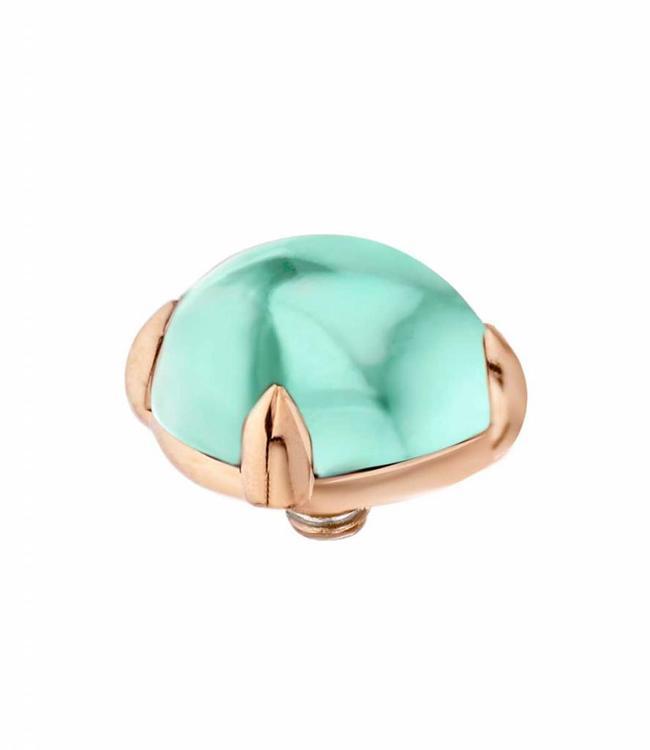 MelanO Twisted Bold , 08MM RG, Turquoise