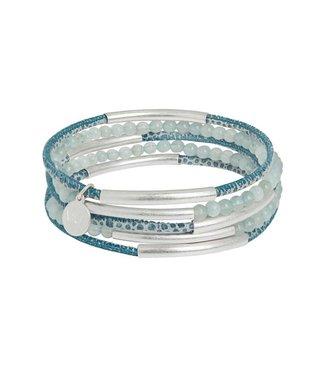 Sence Copenhagen Armband blue silver
