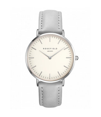 Rosefield Watch The Bowery Grey Silver