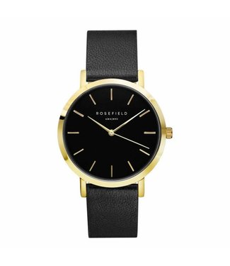 Rosefield Montre Gramercy black black gold