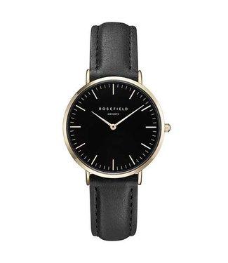 Rosefield Watch Tribeca black black gold