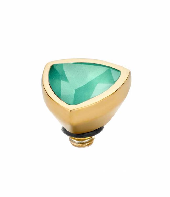MelanO Twisted Triangel , 08MM G, Turquoise