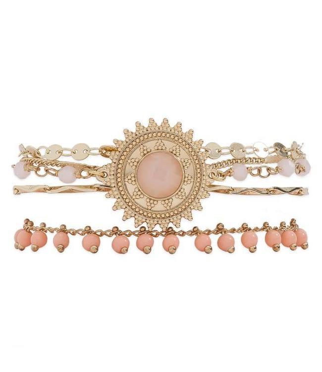Hipanema Armband Magic Pink