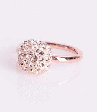Phantasya Ring Crystal Square Rosegold