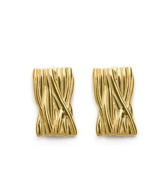 CASA Collection Oorbel Spaghetti Goud