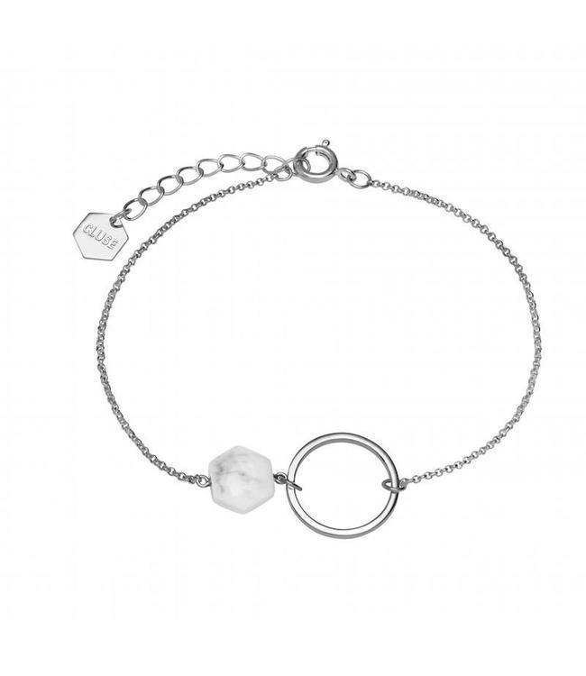 Cluse Armband Stone Silver