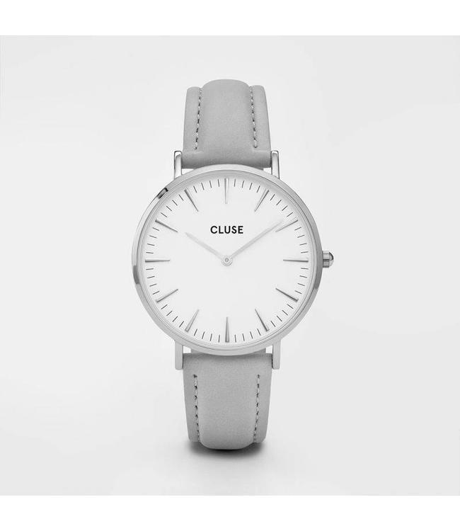 Cluse Uurwerk Boho Chic silver white/grey