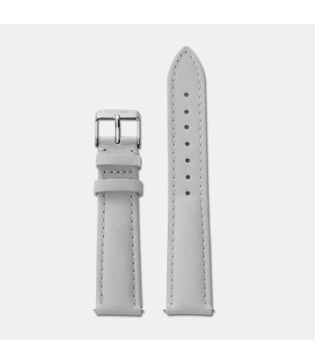 Cluse Uurwerkbandje La Bohème strap grey/silver