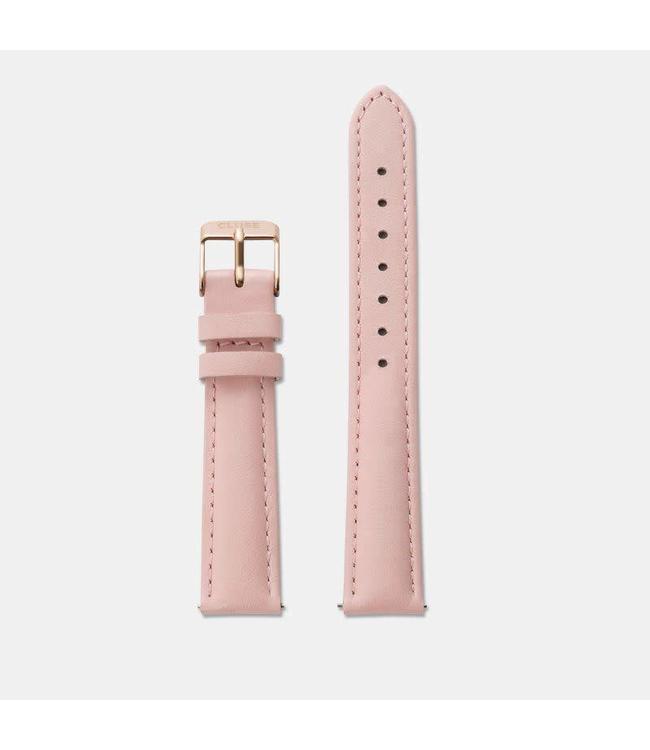 Cluse Uurwerkbandje Minuit pink/rosegold