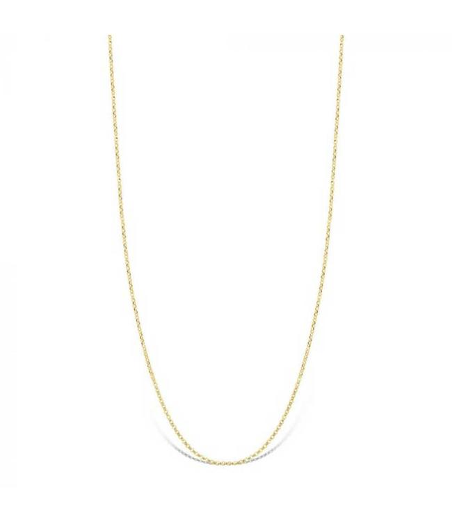 Mi Moneda Halsketting Livia 925 Silver Gold