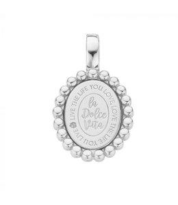 Mi Moneda Pendant Soho 925 Silver Oval