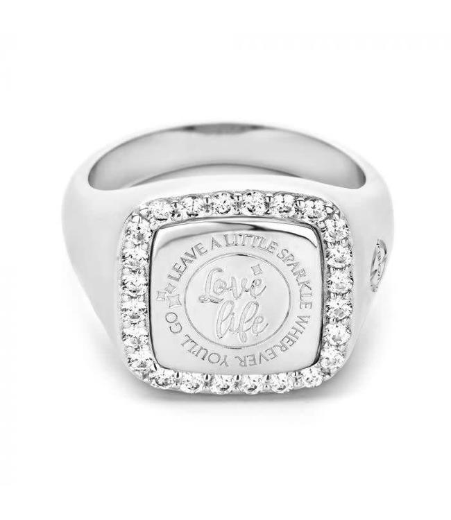 Mi Moneda Ring Empire Silver