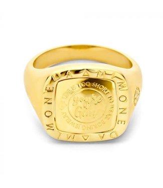 Mi Moneda Ring Lenox Gold