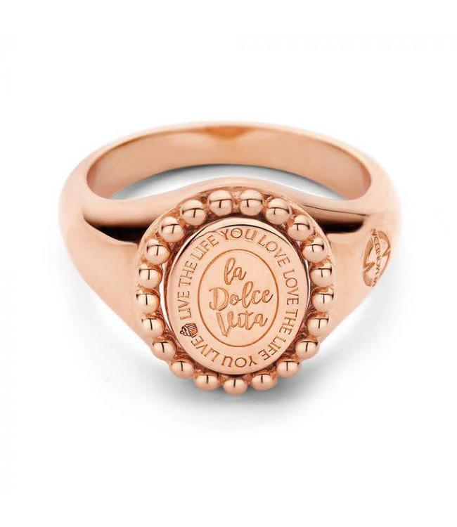 Mi Moneda Ring Soho Rosegold