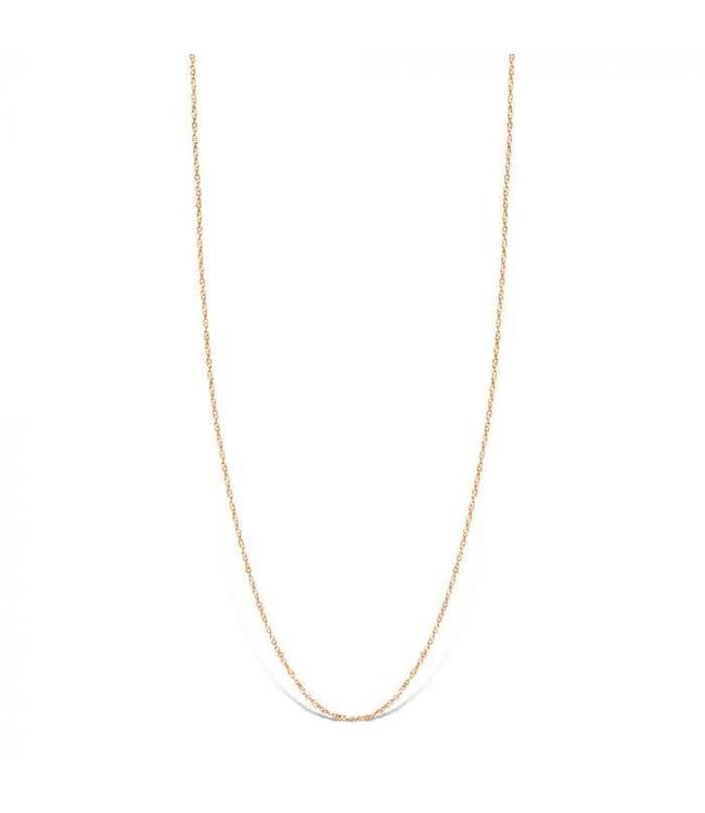 Mi Moneda Halsketting Bella 925 Silver Rosegold