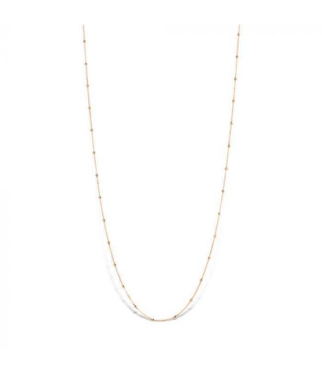 Mi Moneda Halsketting Astoria 925 Silver Rosegold