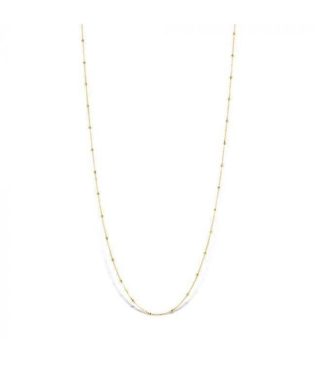 Mi Moneda Halsketting MMV Astoria 925 Silver Gold Plated