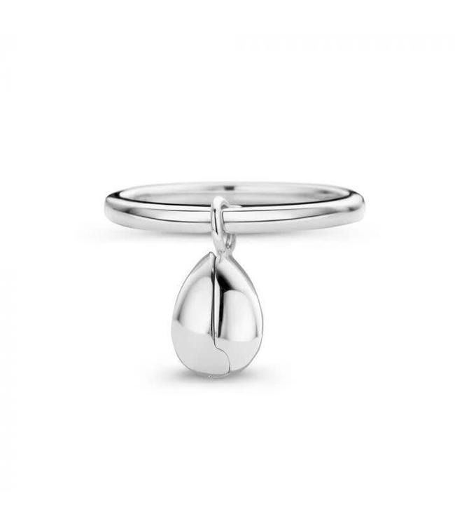 Mi Moneda Ring MM Legacy Silver