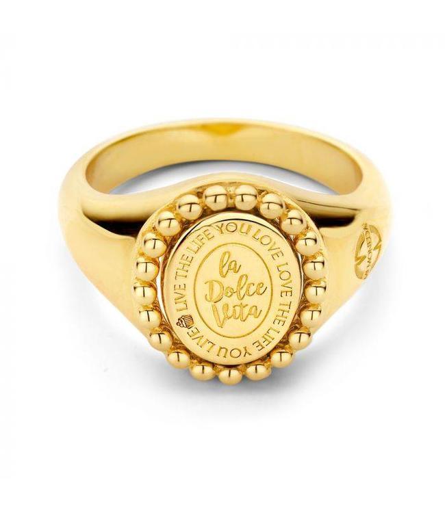 Mi Moneda Ring Soho Goud