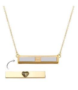 Halsketting Twyn Gold