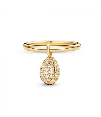 Mi Moneda Ring MM Legacy Deluxe Goldplated