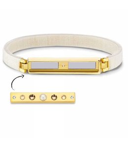 Armband Boho Ivory