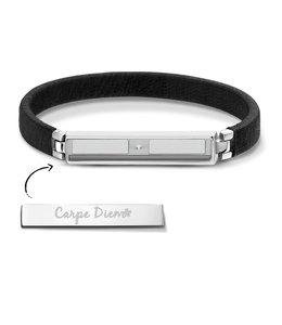 Armband Boho Black Silver