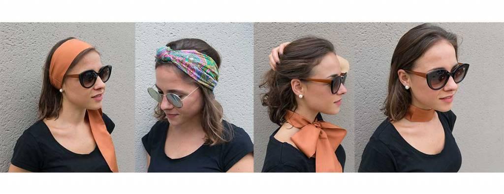 Trend: Sjaals in het haar