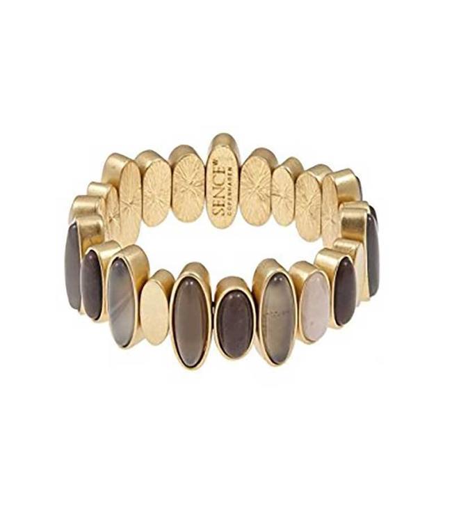 Sence Copenhagen Armband Oval Stones Gold