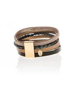 Murielle Perrotti Armband Desert Brown