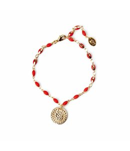 Murielle Perrotti Armband River Red