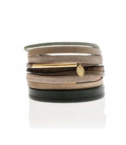 Murielle Perrotti Armband Sandy Brown