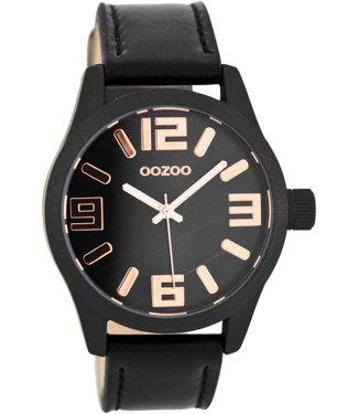 Oozoo Uurwerk Urban Black 41mm
