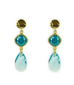 Design By D. Oorbel Bella Turquoise