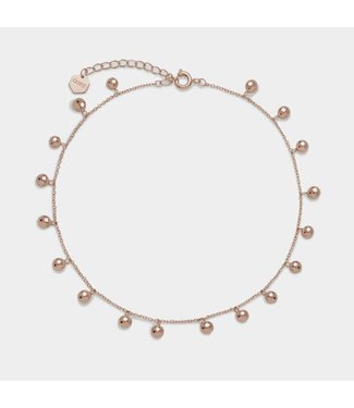 Cluse Enkelband Essential rosegold Orbs