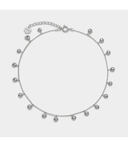 Cluse Enkelband Essential Silver Orbs