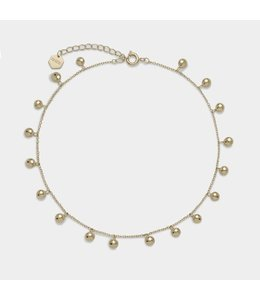 Cluse Enkelband Essential Gold Orbs