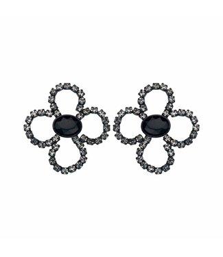 Souvenirs de Pomme Boucles d'oreilles Lola Bloom Black
